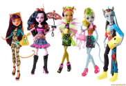 CCB45 Игрушка. Кукла MONSTER HIGH