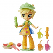 B4909/APPLE JACK Игрушка Equestria Girls мини-кукла с акс,