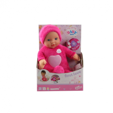 820858 Игрушка my little Baby born Кукла супермягкая музыка